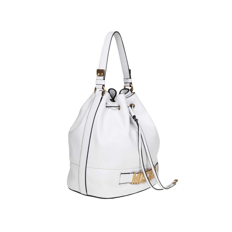 Tote bags women Moschino Couture white 2