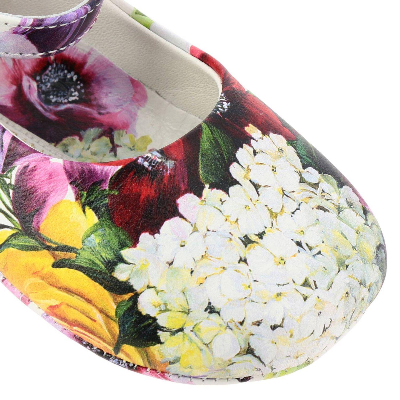 Zapatos niños Dolce & Gabbana hortensia 3