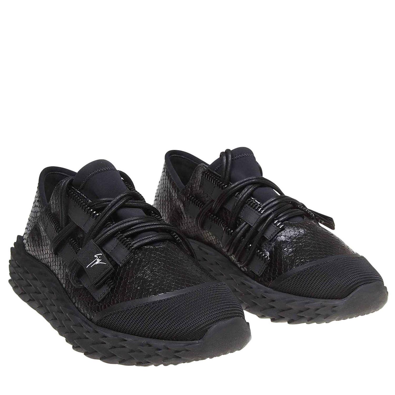 Спортивная обувь Мужское Giuseppe Zanotti Design черный 2