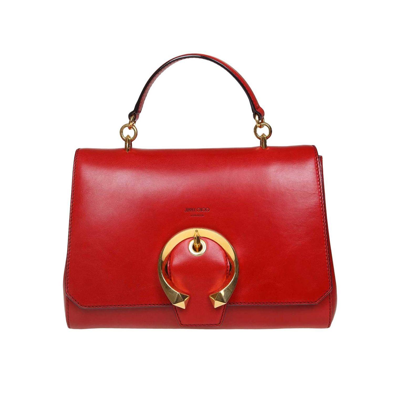 Tote bags Jimmy Choo: Tote bags women Jimmy Choo red 1