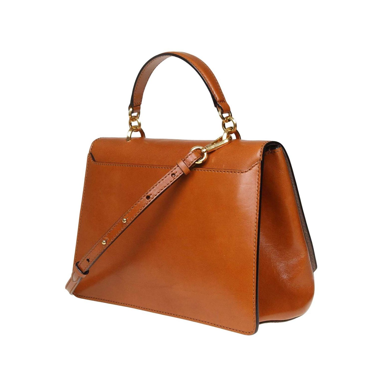 Tote bags Jimmy Choo: Madeline Jimmy Choo handbag in vintage leather with jeweled buckle leather 3