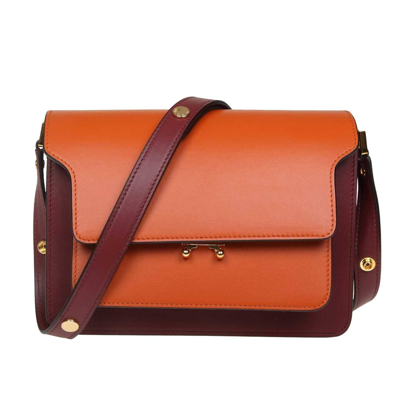 Tote bags Marni: Tote bags women Marni orange 1