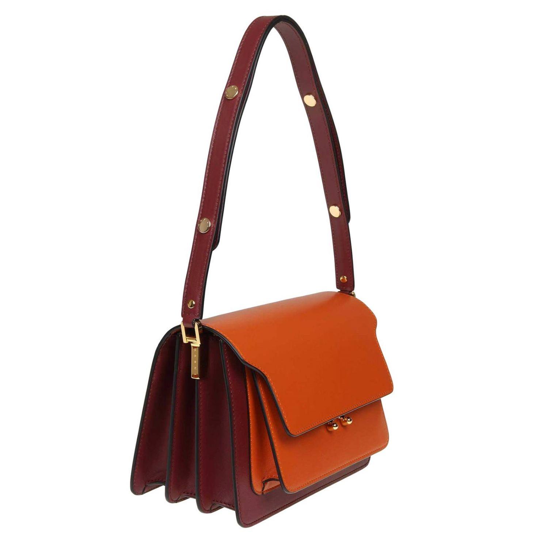 Tote bags Marni: Tote bags women Marni orange 2