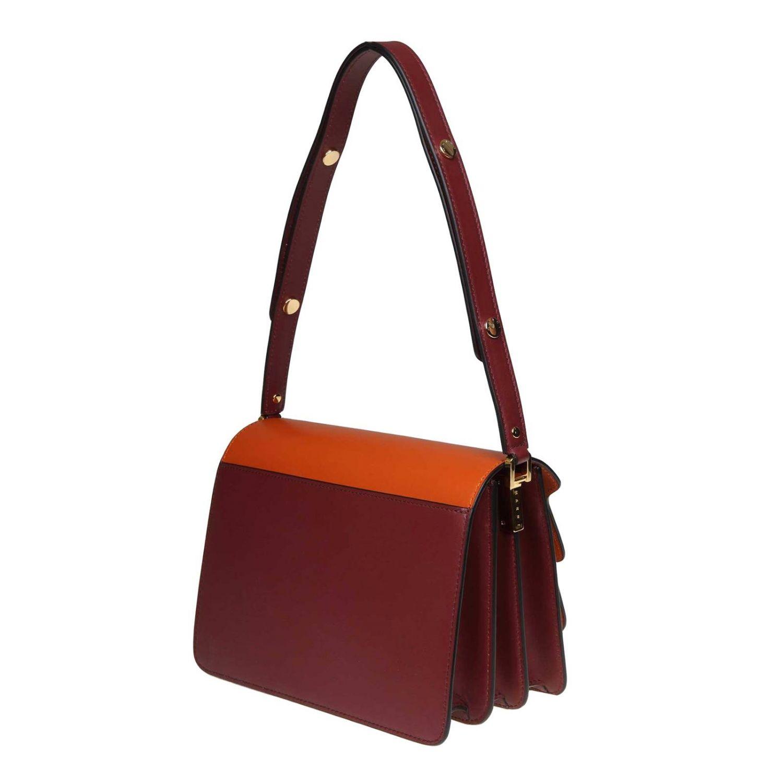 Tote bags Marni: Tote bags women Marni orange 3
