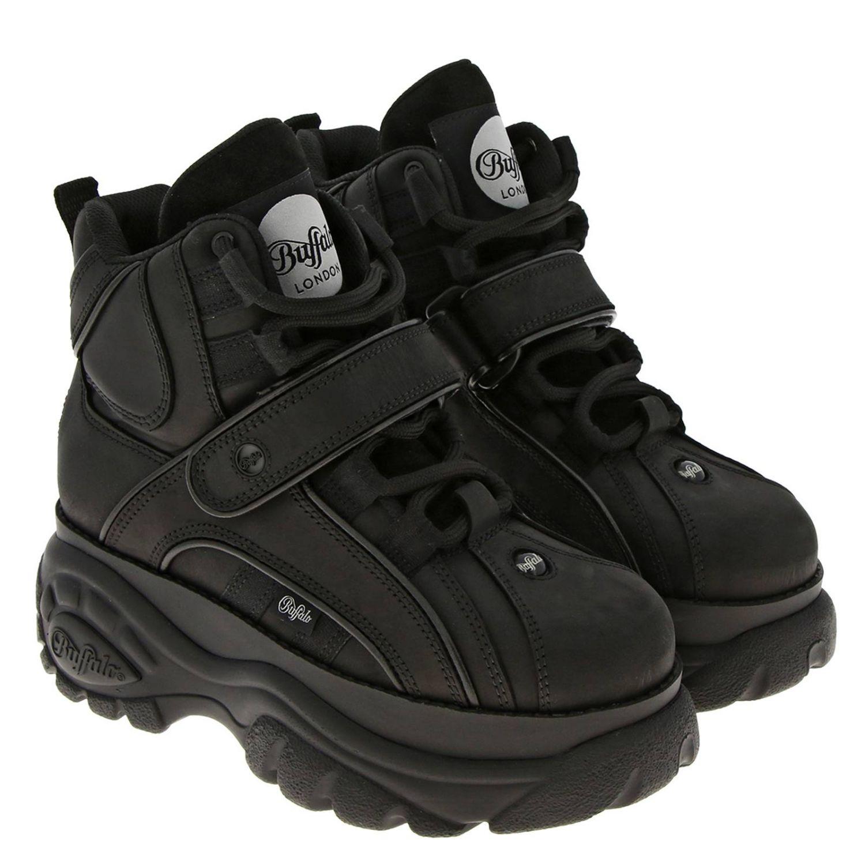 Zapatillas mujer Buffalo negro 2