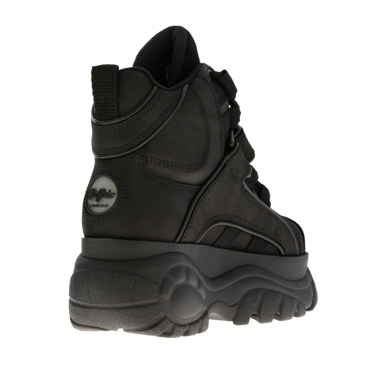 Zapatillas mujer Buffalo negro 4