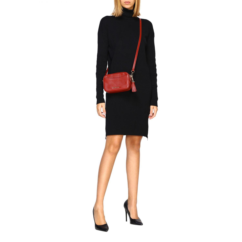 Mini bag Michael Michael Kors: Mini bag women Michael Michael Kors burgundy 2