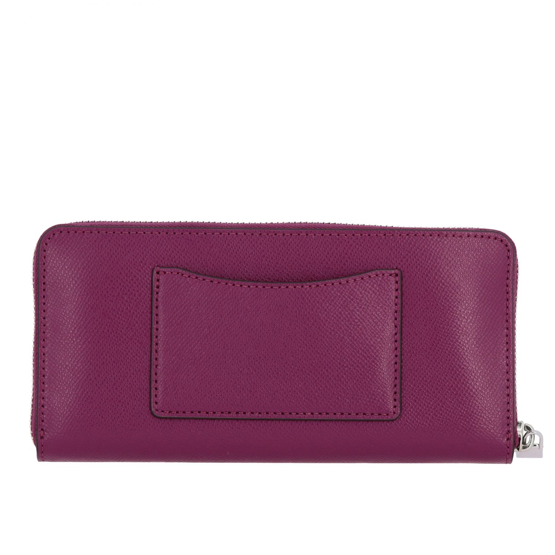 Michael Michael Kors continental leather wallet burgundy 3