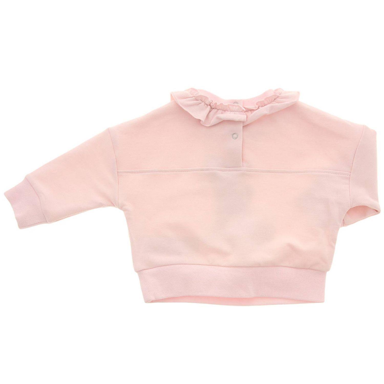Свитер Monnalisa Bebe': Свитер Детское Monnalisa Bebe' розовый 2