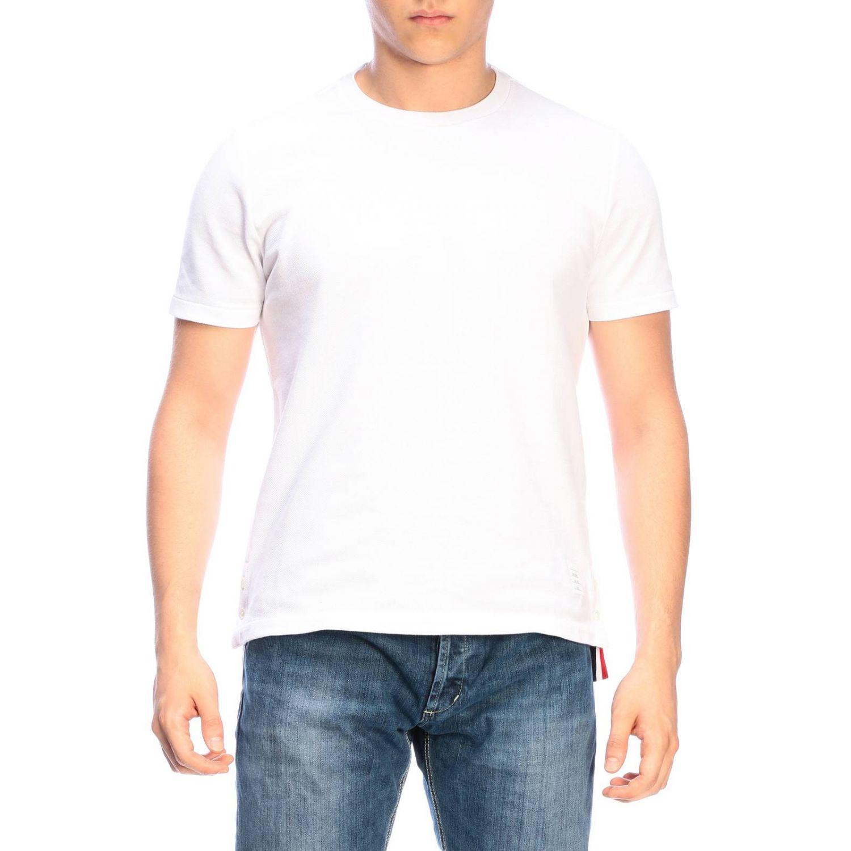 T-shirt men Thom Browne white 1