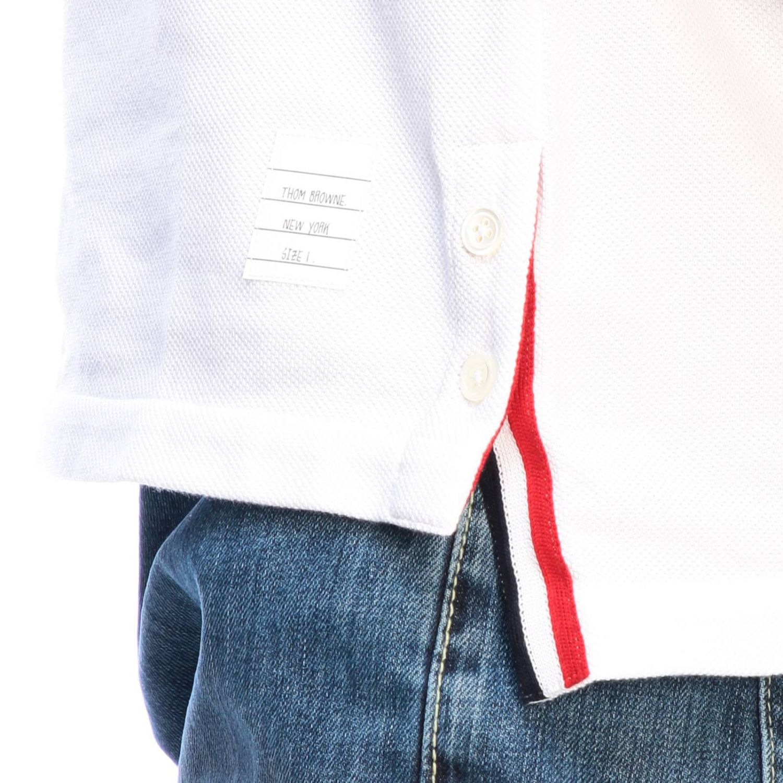 T-shirt men Thom Browne white 3