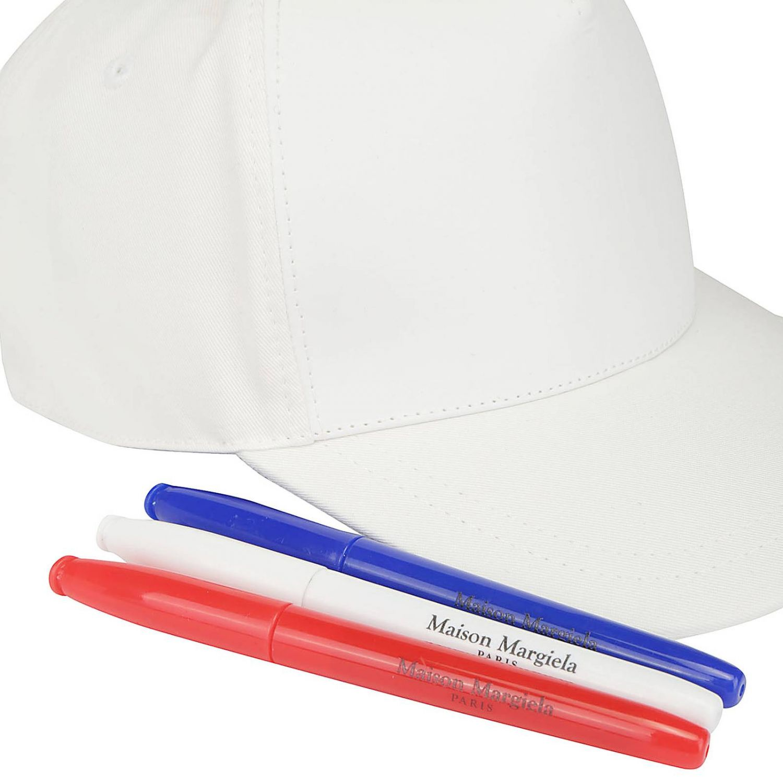 Hat men Maison Margiela white 3