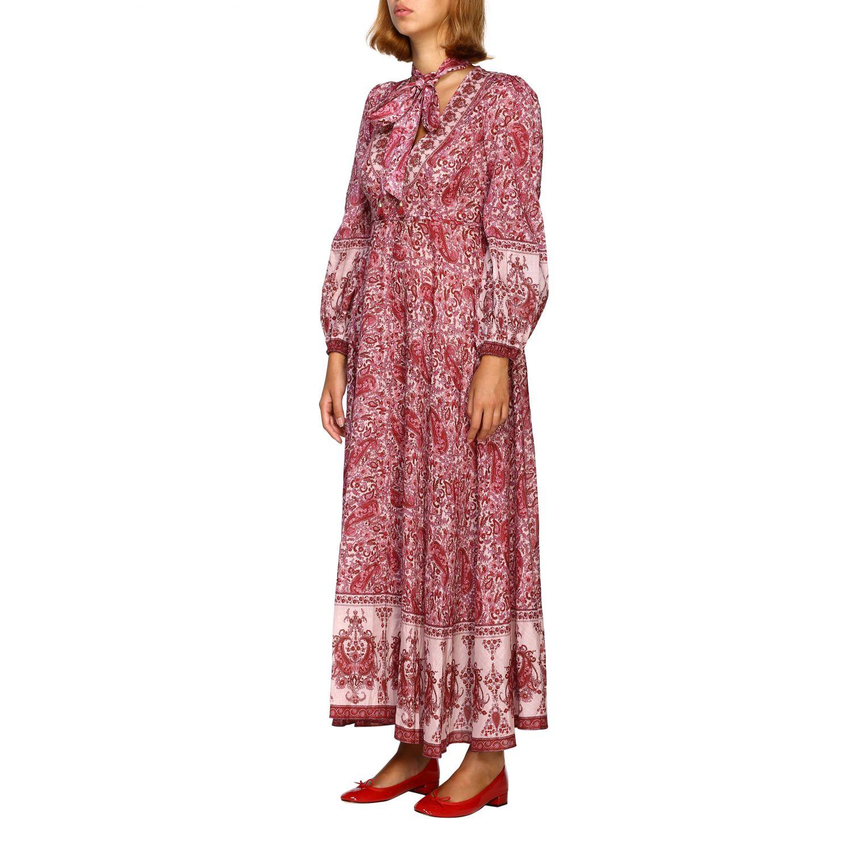 Robes femme Zimmermann cyclamen 3