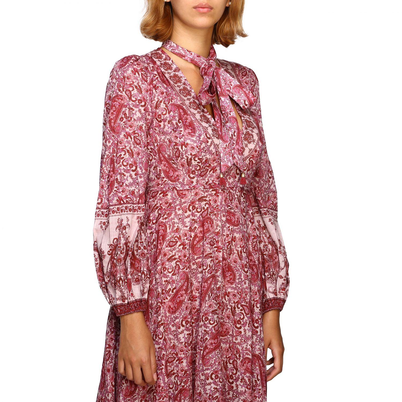 Robes femme Zimmermann cyclamen 4