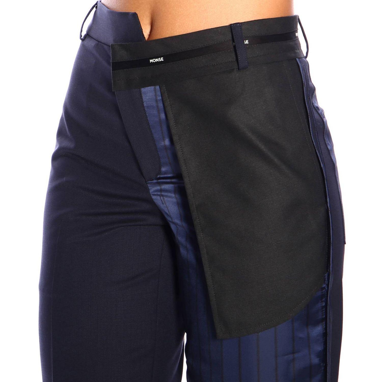 Pants women Monse blue 4