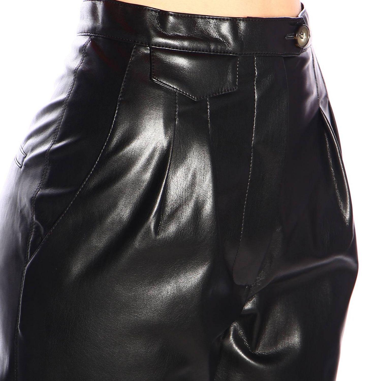 裤子 女士 Nanushka 黑色 4