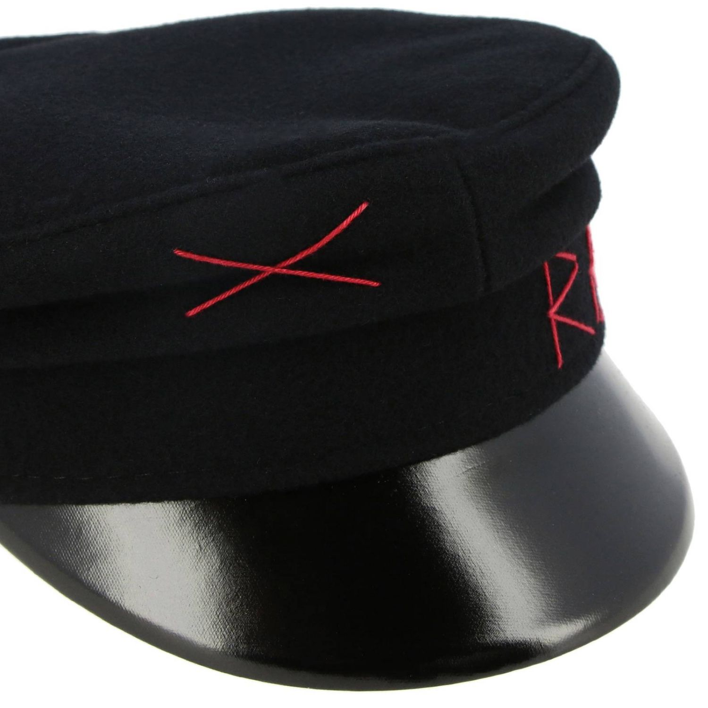 Hat Ruslan Baginskiy: Hat women Ruslan Baginskiy black 2