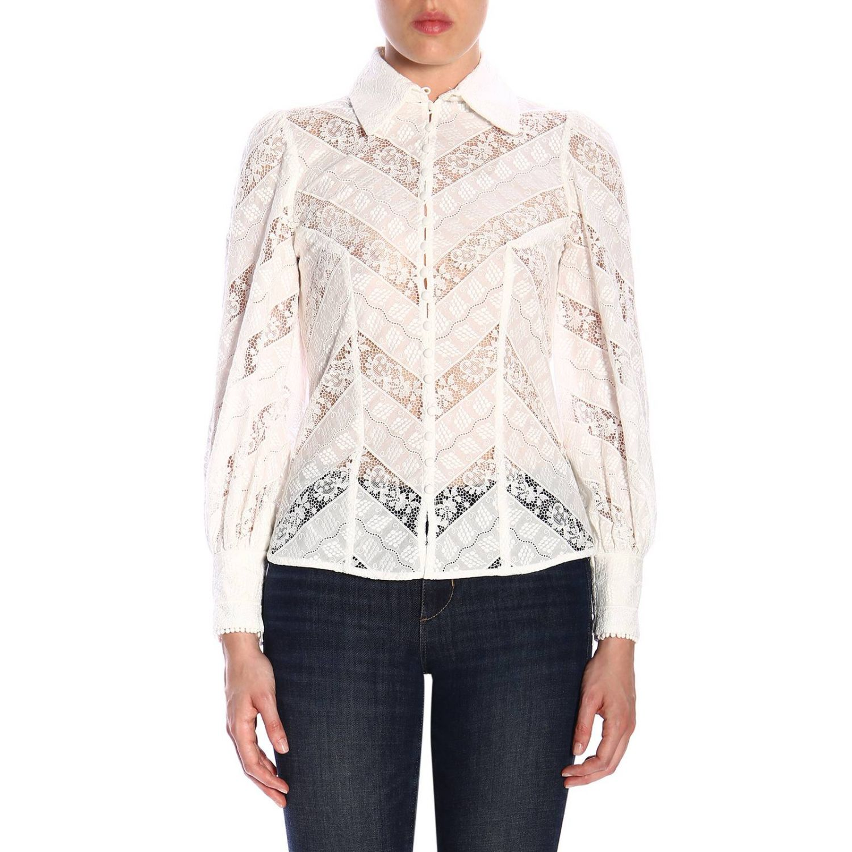 Shirt women Zimmermann white 1