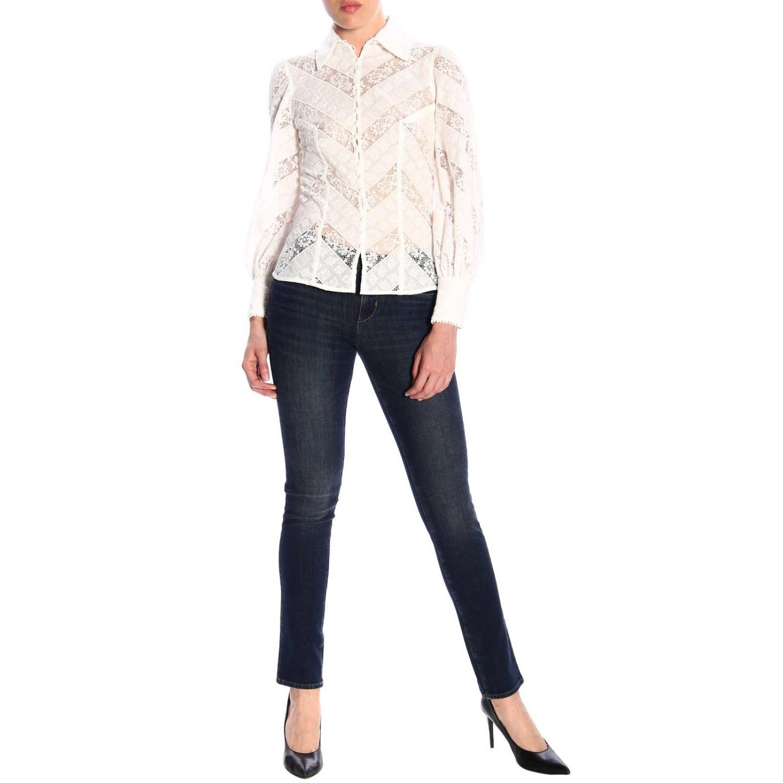 Shirt women Zimmermann white 2