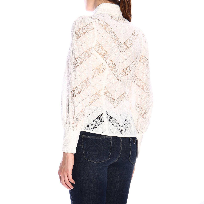 Shirt women Zimmermann white 3