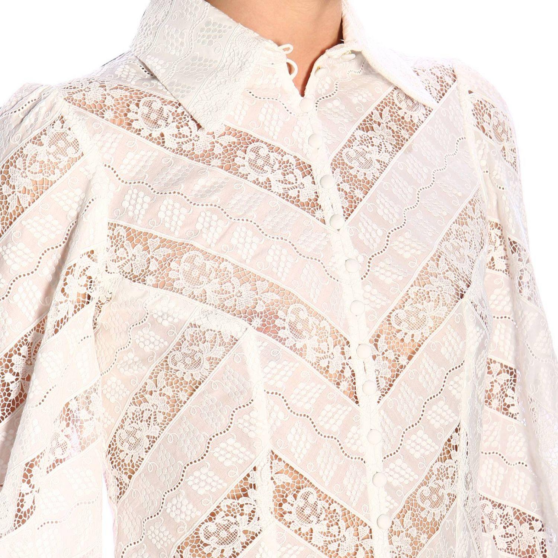 Shirt women Zimmermann white 4