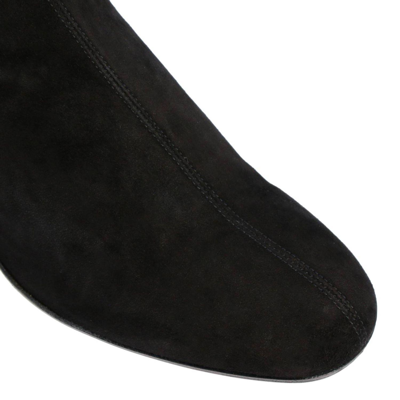 Botines de tacón Aquazzura: Botines de tacón mujer Aquazzura negro 3