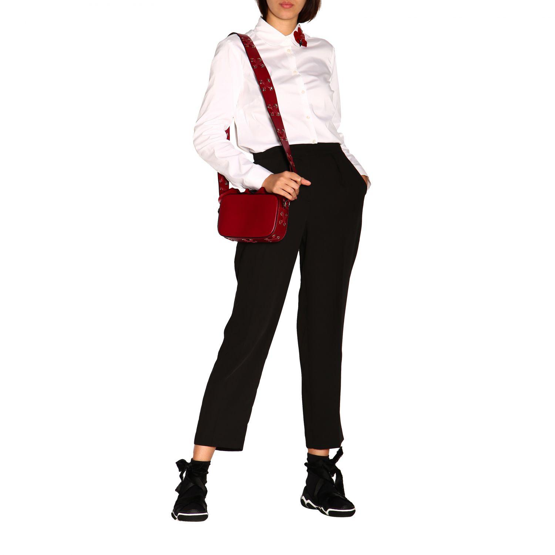 Sac porté épaule femme Red(v) bordeaux 2