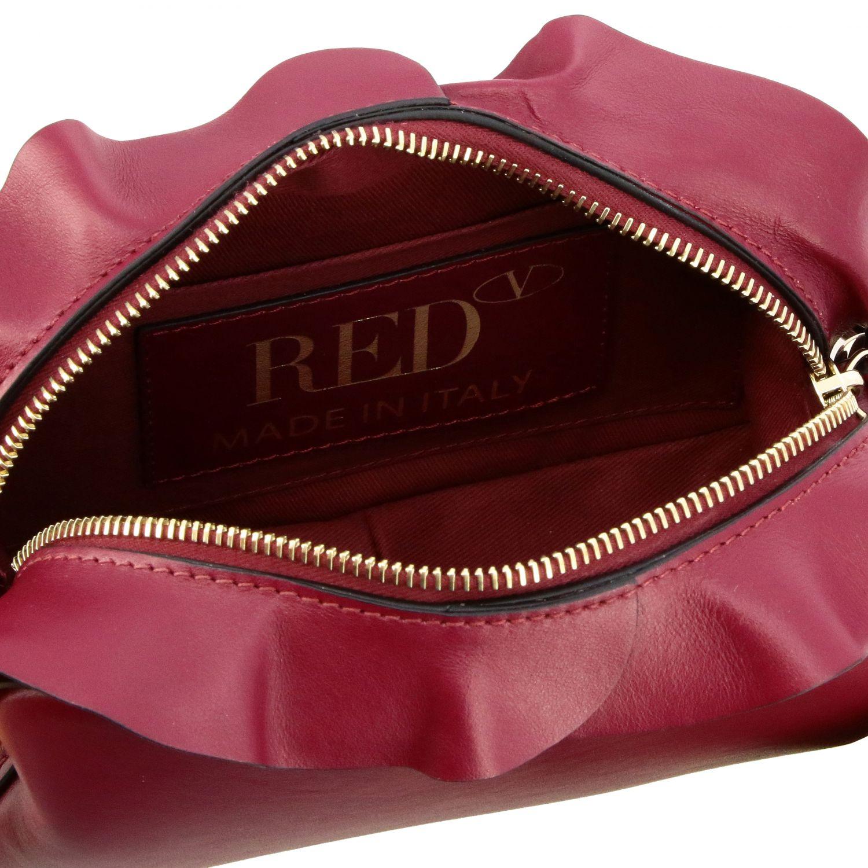 Sac porté épaule femme Red(v) bordeaux 5