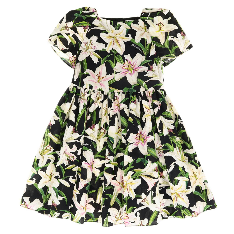 Dress Dolce & Gabbana: Dress kids Dolce & Gabbana black 1