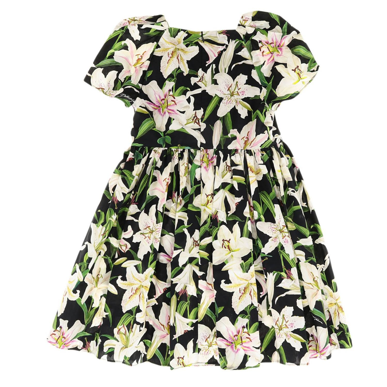 Dress Dolce & Gabbana: Dress kids Dolce & Gabbana black 2