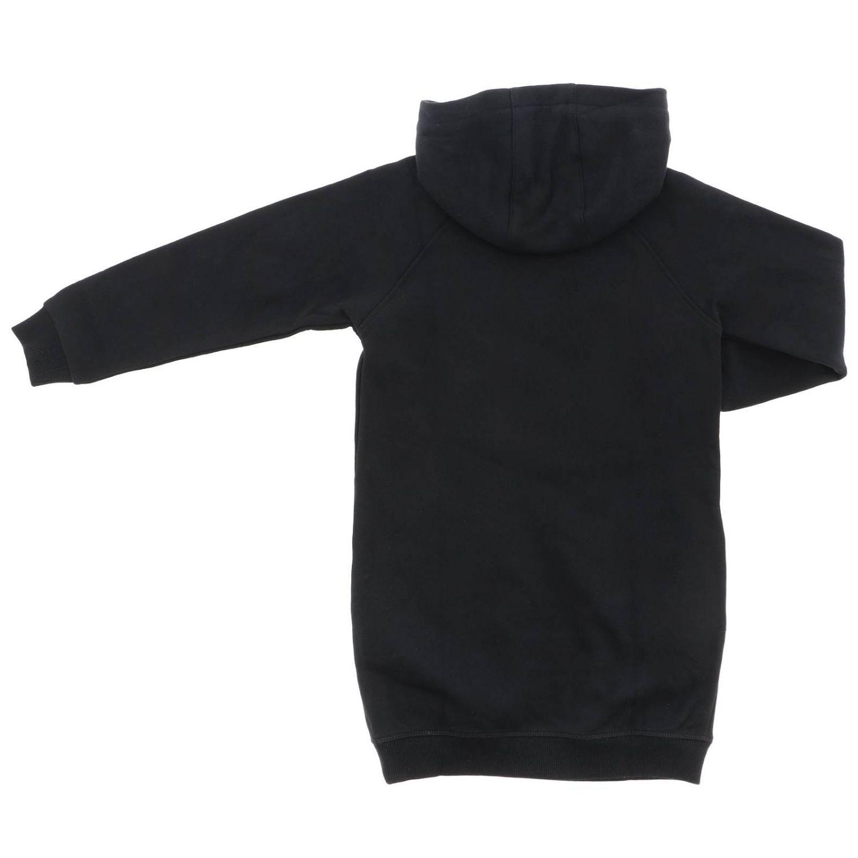 Robe sweat Kenzo Junior avec maxi logo Tiger Kenzo Paris noir 2
