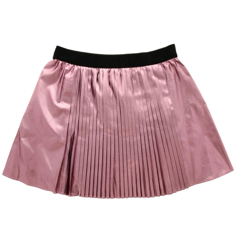 Jupe Kenzo Junior: Jupe Kenzo Junior plissée rose 2