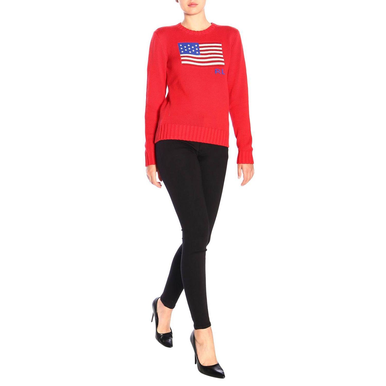 Trousers women Polo Ralph Lauren black 2