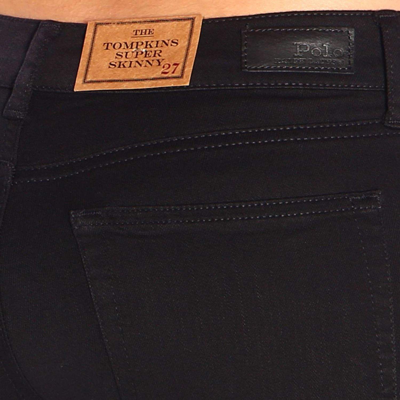 Trousers women Polo Ralph Lauren black 4