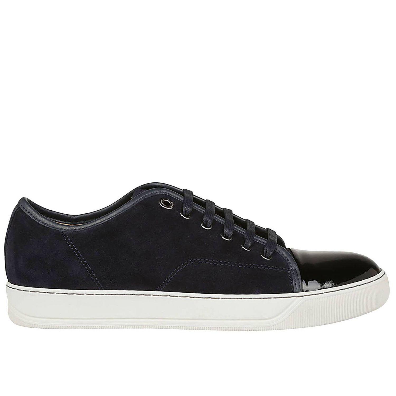 Zapatillas hombre Lanvin azul oscuro 1