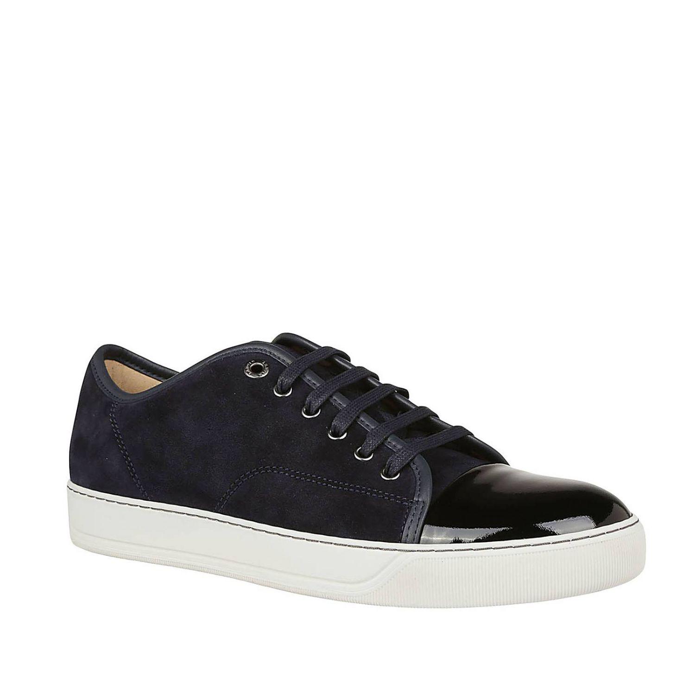 Zapatillas hombre Lanvin azul oscuro 2