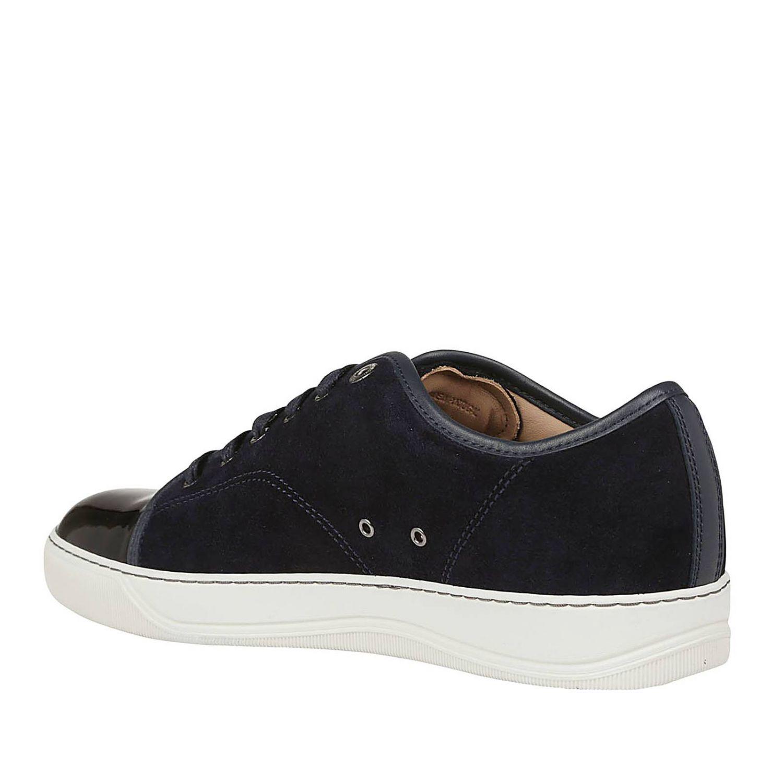 Zapatillas hombre Lanvin azul oscuro 3