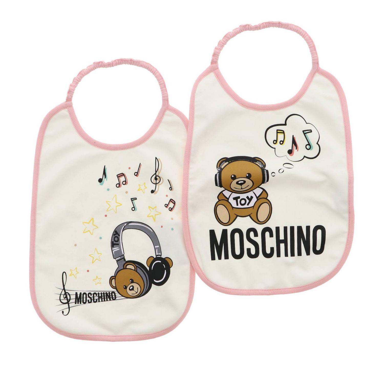围兜 儿童 Moschino Baby 灰色 1