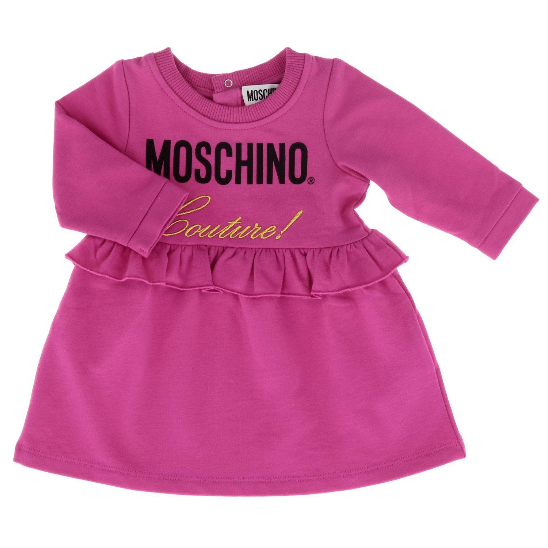 Dress Moschino Baby: Dress kids Moschino Baby fuchsia 1