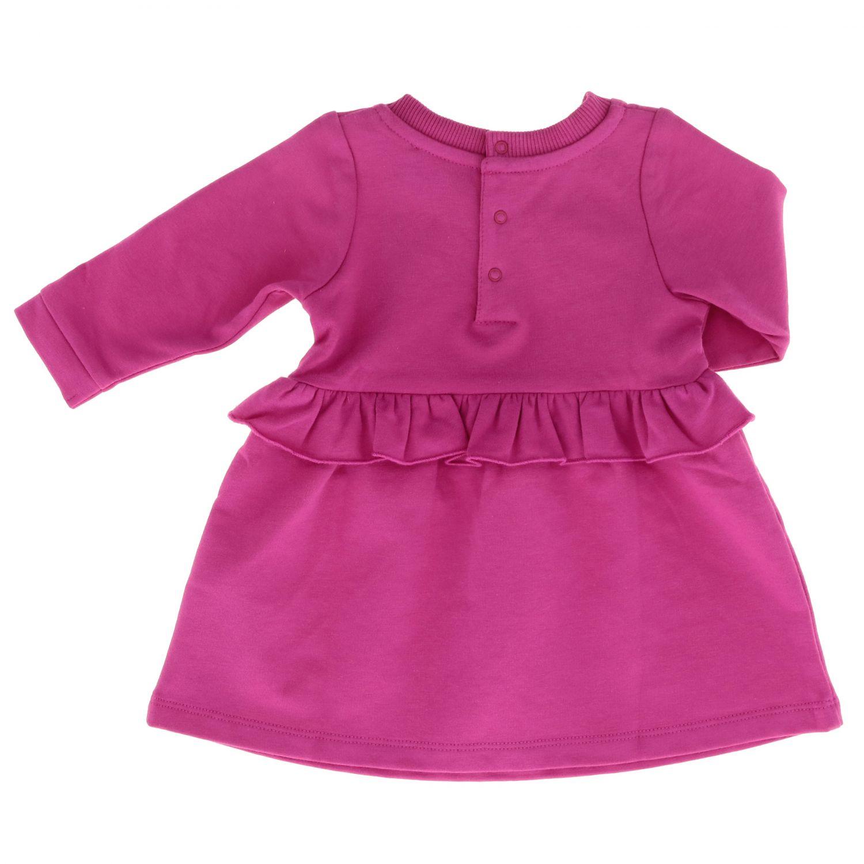 Dress Moschino Baby: Dress kids Moschino Baby fuchsia 2