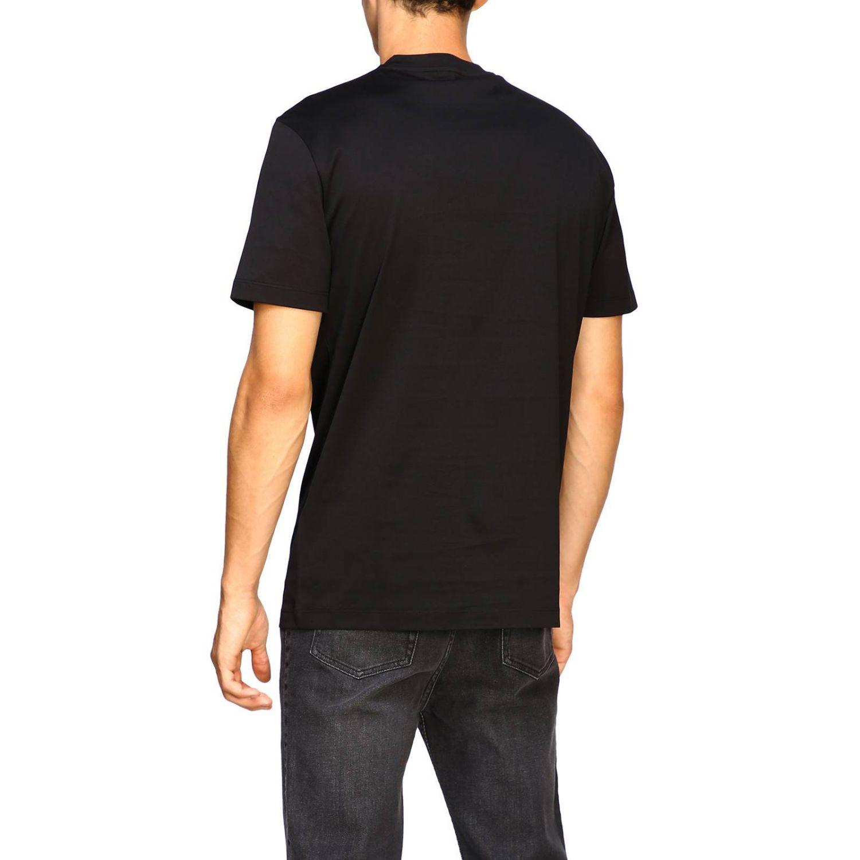 T-shirt a maniche corte con maxi medusa by Versace bianco 3