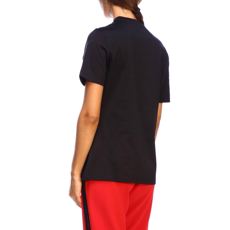 T-shirt Versace à manches courtes avec maxi impression I love New York noir 3
