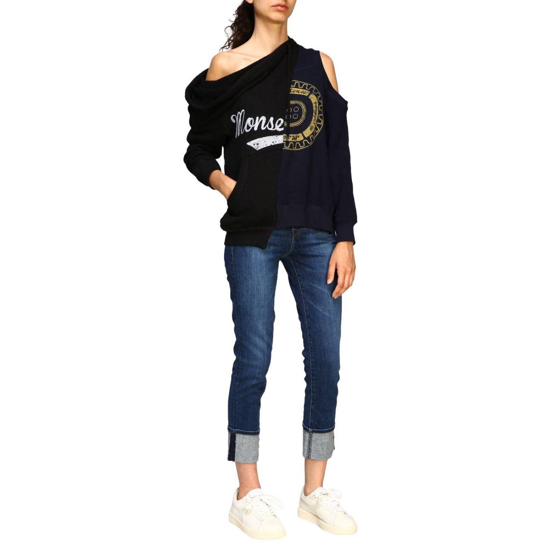 Sweater women Monse black 2