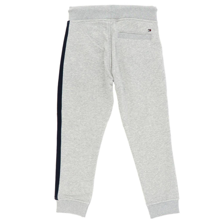 Pantalon Tommy Hilfiger: Pantalon enfant Tommy Hilfiger gris 2
