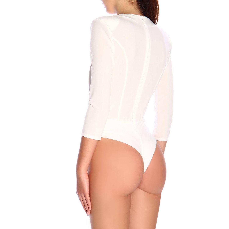 Elisabetta Franchi连体衬衫 象牙色 3