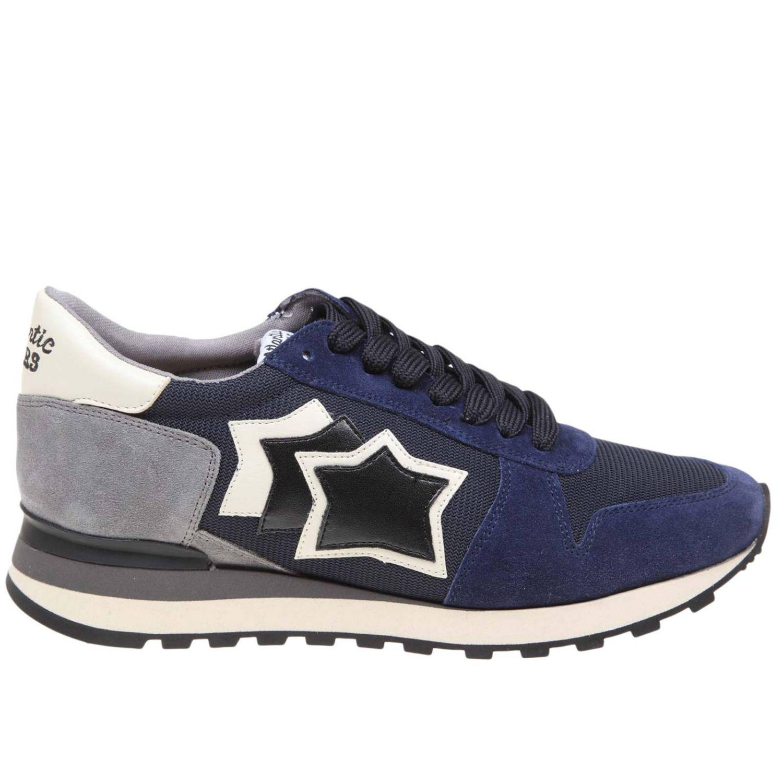 Zapatillas hombre Atlantic Stars azul marino 1