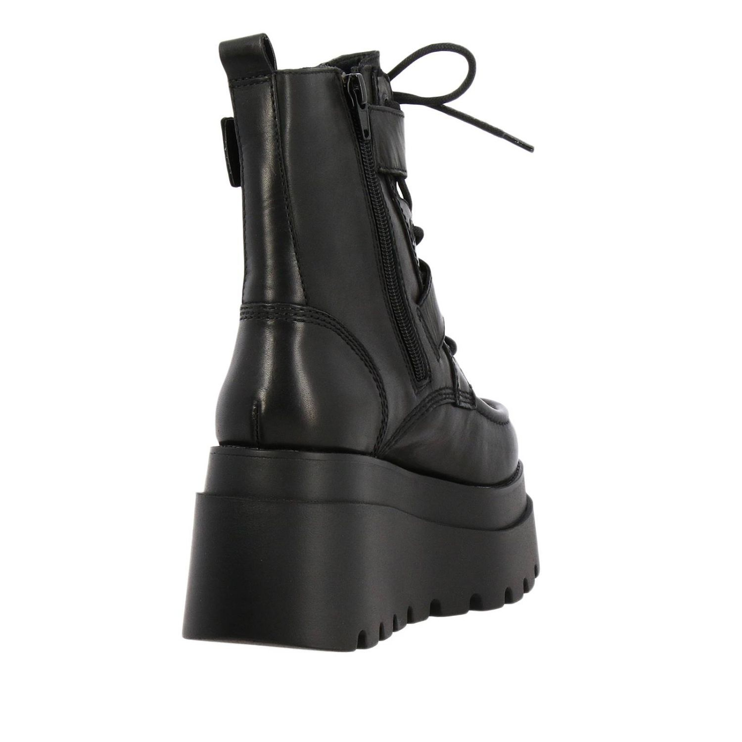 Flat ankle boots women Windsorsmith black 4