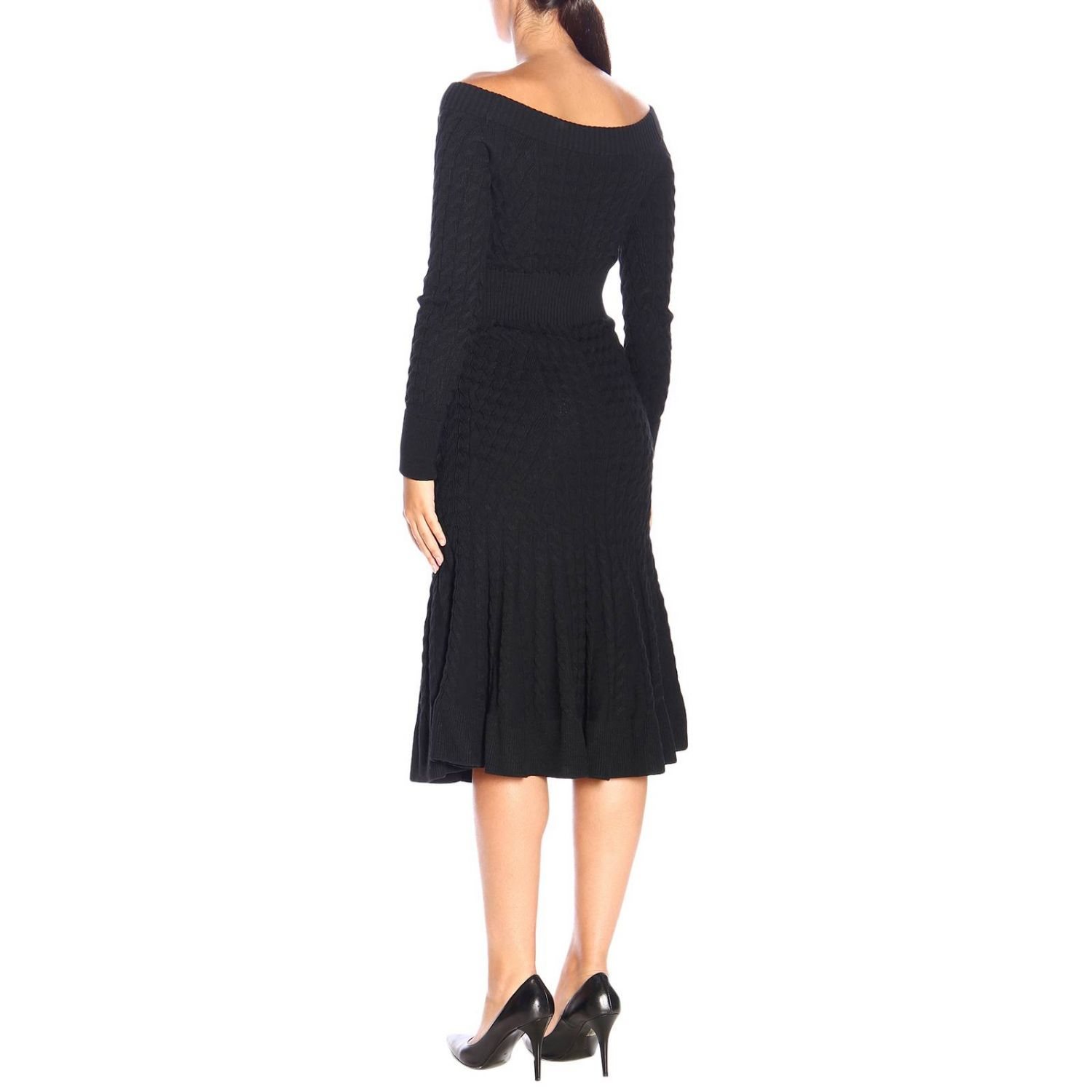Dress Alexander Mcqueen: Dress women Alexander Mcqueen black 2