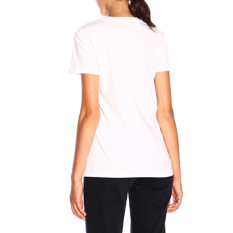 T-shirt Levi's a maniche corte con logo bianco 3