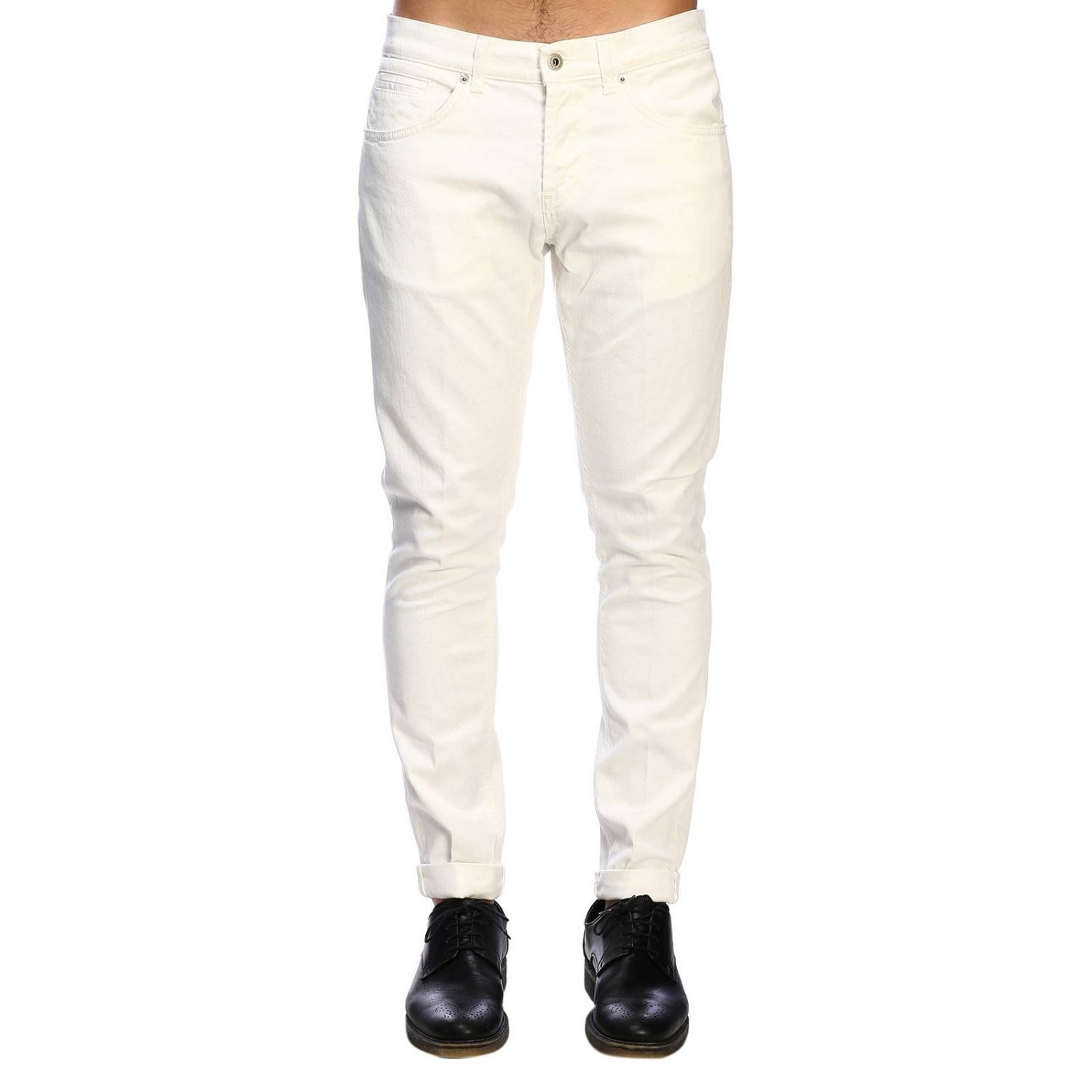 Jeans Dondup: Jeans homme Dondup blanc 1